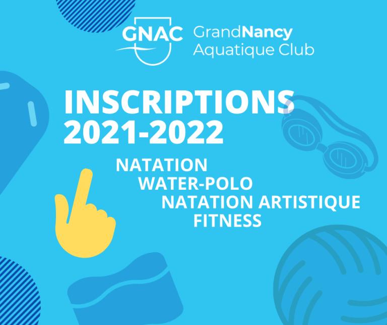 Inscription 2021-2022